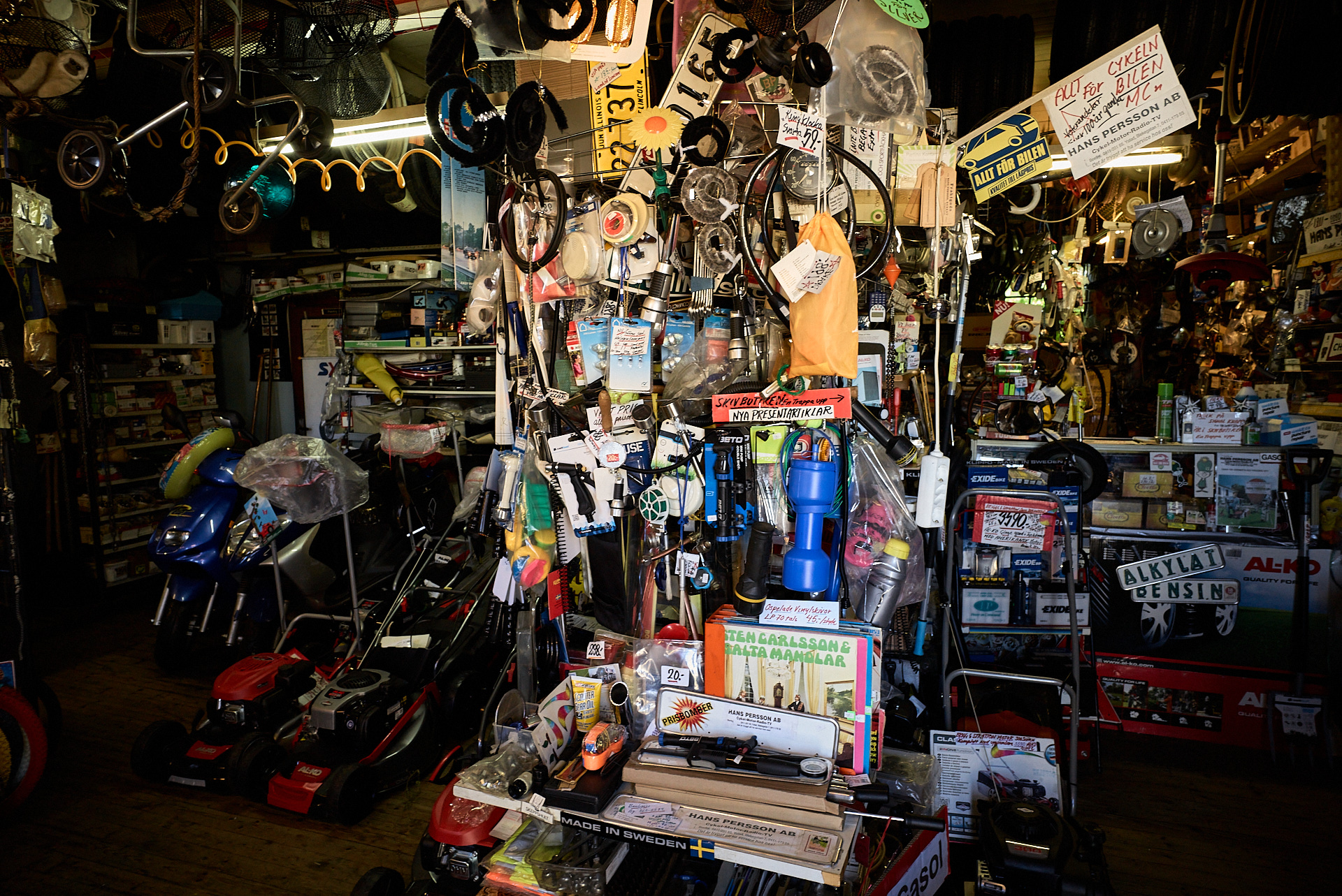 Cykelhandlaren i Borrby