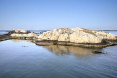 Gäveskär, hamnbassängen