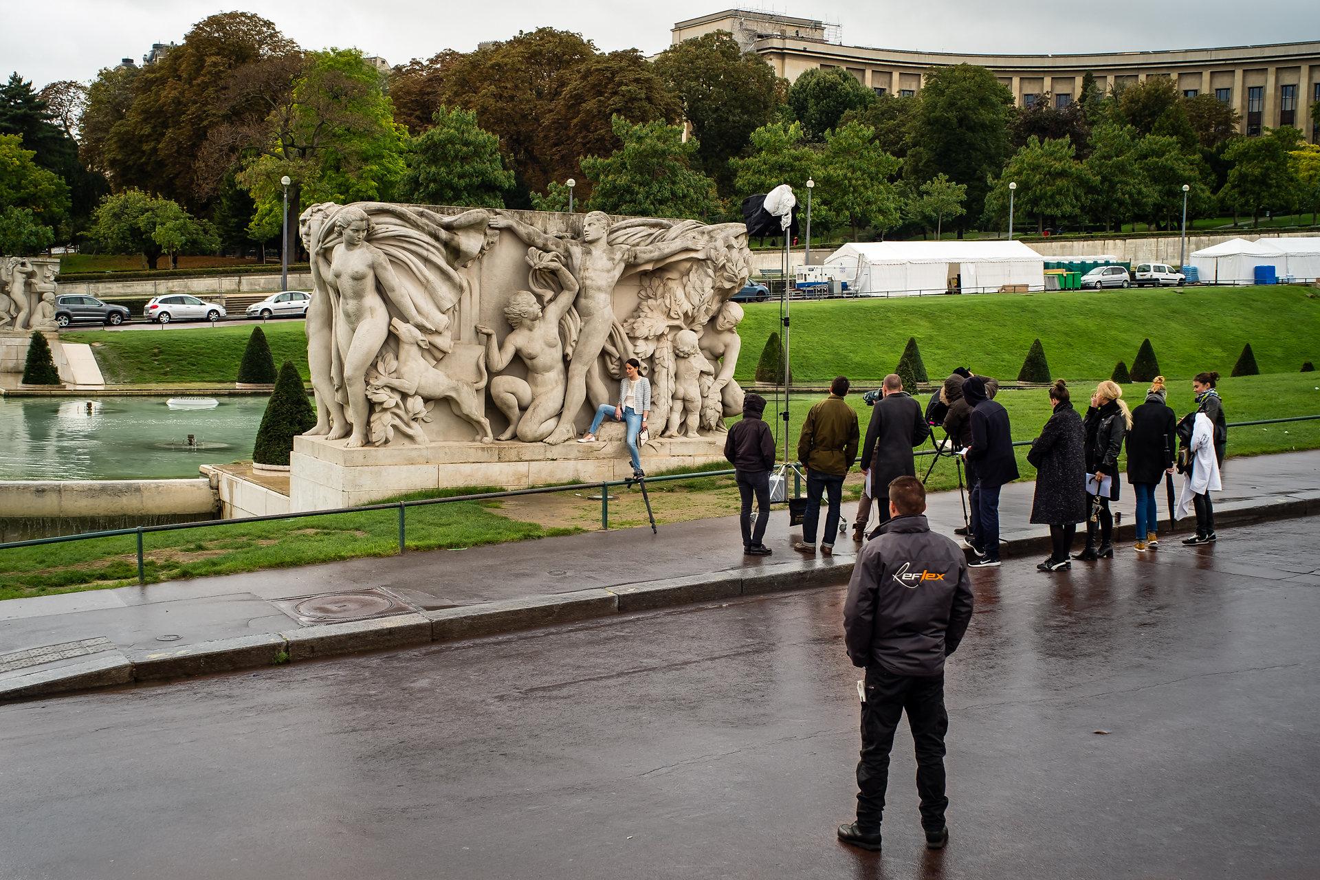 Jardin du Trocadéro, 8:e