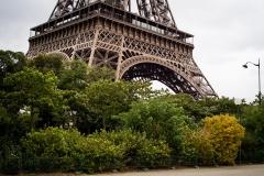 Eiffeltornet vid Quai Branly, 7:e