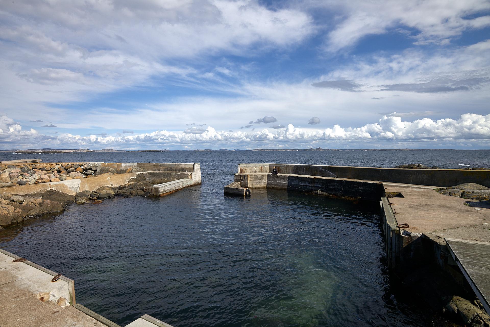 Hamneskär, östra hamnen